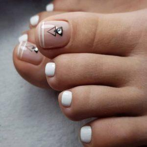 French Pedicure Photos 39